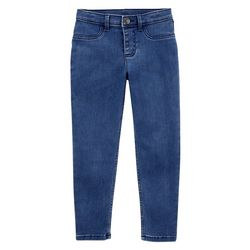 Little Girls Denim Leggings