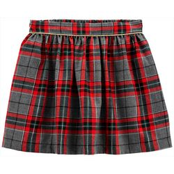 Carters Little Girls Xmas Plaid Skirt