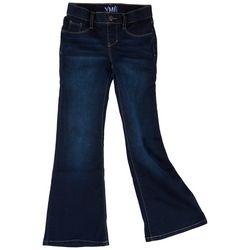 YMI Big Girls Flared Pull On Denim Jeans