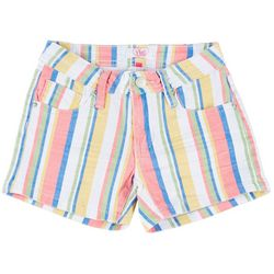 YMI Big Girls Stripe Shorts