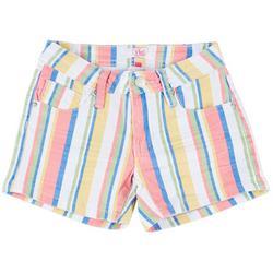 Big Girls Stripe Shorts