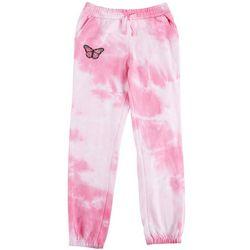 Hot Kiss Big Girls Tie Dye Butterfly Jogger Pants