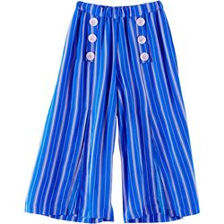Daylight Big Girls Striped Capris