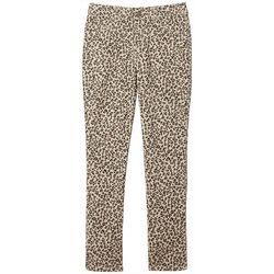 Big Girls Leopard Print Jegging Pants