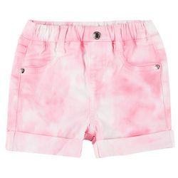 Flapdoodles Little Girls Tie-Dye Roll Cuff Shorts