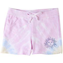 Full Circle Trends Big Girls Tie Dye Sun Shorts