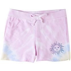 Big Girls Tie Dye Sun Shorts