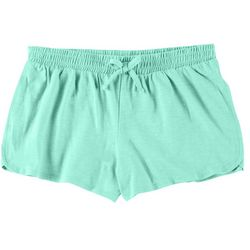 Green Soda Little Girls Solid Shorts