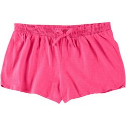 Little Girls Solid Shorts