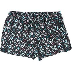 Big Girls Mixed Geometric Print Shorts