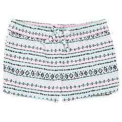 Big Girls Mixed Chevron Print Shorts