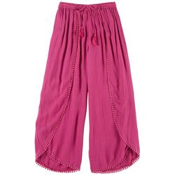 Angie Girl Big Girls Solid Beach Pants