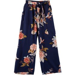 Big Girls Bird Print Palazzo Pants