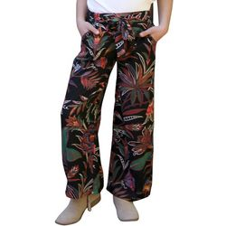 Big Girls Floral Print Palazzo Pants