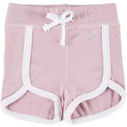 Peaceful Warrior Little Girls Ellie Tulip Hem Shorts