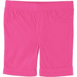 Kidtopia Little Girls Solid Bermuda Shorts