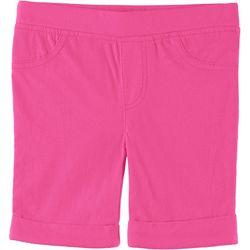 Little Girls Solid Bermuda Shorts