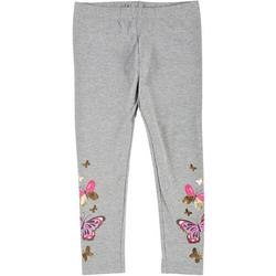 Little Girls Butterfly Pull-On Leggings