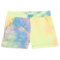 Kidtopia Little Girls Drawstring Tie Dye Shorts