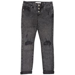 Jessica Simpson Big Girls Midrise Roll Cuff Denim Jeans