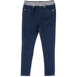 Little Girls Gracie Denim Pull On Pants