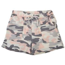 Big Girls Camo Print Shorts