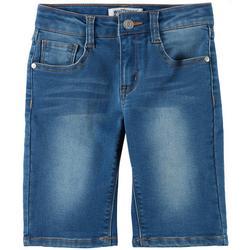 Big Girls Insta Soft Denim Bermuda Shorts