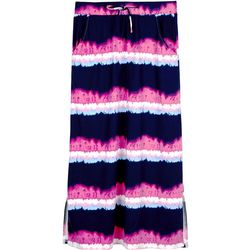 Amy Byer Big Girls Tie Dye Maxi Skirt