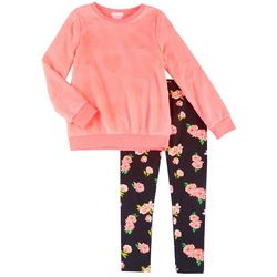 Forever Me Big Girls 2-pc. Heart Sweater & Leggings Set