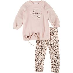Bonnie Jean Big Girls 3-pc. Inspire Leggings Set