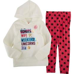 Nanette Big Girls 2-Pc. Smiley Leggings Set