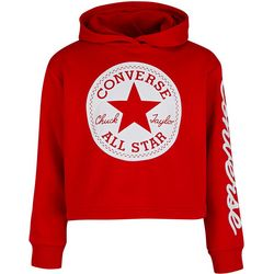 Converse Big Girls Chuck Taylor Patch Cropped Hoodie