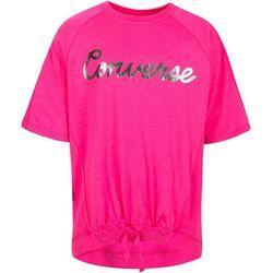 Converse Big Girls Script Logo Short Sleeve T-shirt