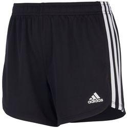 Adidas Big Girls 3-Stripes Shorts