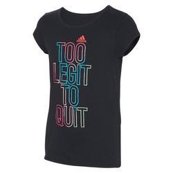 Big Girls Short Sleeve Side Vent T-shirt