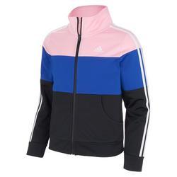 Big Girls Colorblock Tricot Jacket