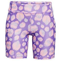 Under Armour Big Girls HeatGear Printed Bike Shorts