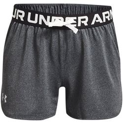 Under Armour Big Girls Play Up Solid Shorts