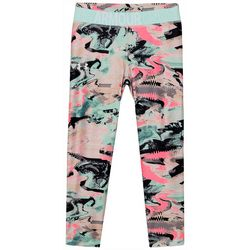 Under Armour Big Girls Printed Crop Leggings
