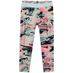 Big Girls Printed Crop Leggings