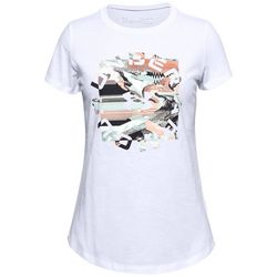 Big Girls Short Sleeve Print Fill T-Shirt