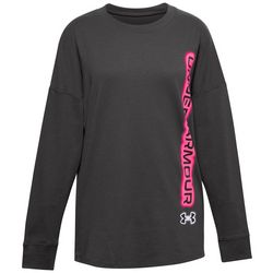 Under Armour Big Girls Long Sleeve Wordmark T-Shirt