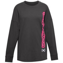 Big Girls Long Sleeve Wordmark T-Shirt