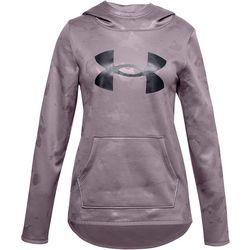 Under Armour Big Girls Long Sleeve Textured Logo Hoodie