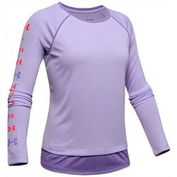 Under Armour Big Girls Tech Long Sleeve Top