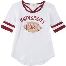 No Comment Big Girls University Game Day Garnet T-Shirt