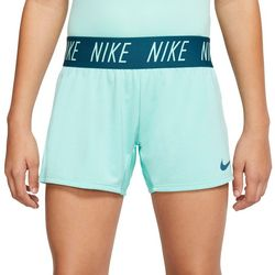 Nike Big Girls Solid Dri-Fit Trophy Shorts