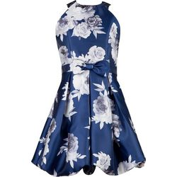 Speechless Big Girls Floral Bubble Dress