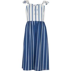 Speechless Big Girls Stripe Walk Through Dress