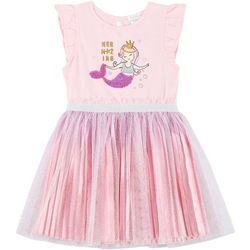 Forever Me Little Girls Sequin Mermaid Tutu Dress